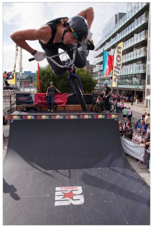 Kings of Concrete 2012 Skateboarding, BMX and Freerunning at Grand Canal Dock in Dublin. 26th August 2012