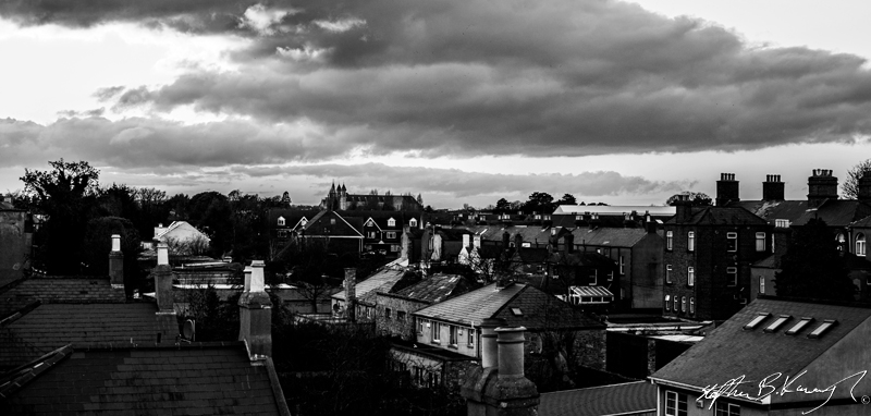 Images over Rathmines, Dublin. 9th December 2013