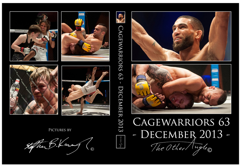 Cage Warriors 63 CD Cover - January 2014