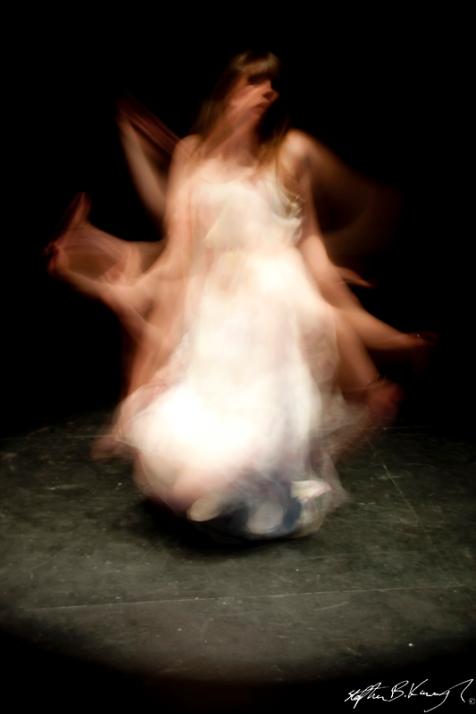 The Dancer dances. She loves her dancing, it makes her feel free