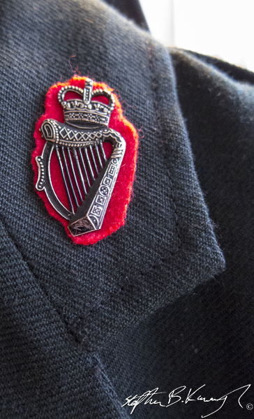 An assortment of jackets available in The 3rd Policeman, Rahtmines, Dublin, Ireland. 25th April 2014