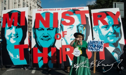 Water Charges Protest - October 2014