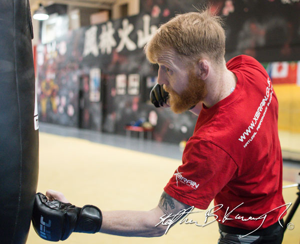 UFC Flyweight Paddy Holohan. Straight Blast Gym, Naas Road, Dulbin, Ireland. 17th October 2015. Picture by Stephen B.K.